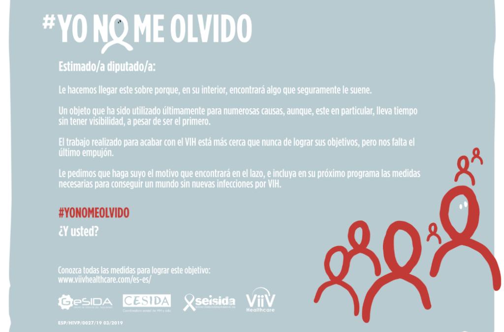 #YONOMEOLVIDO Un símbolo que recordar por el Día Mundial del Sida